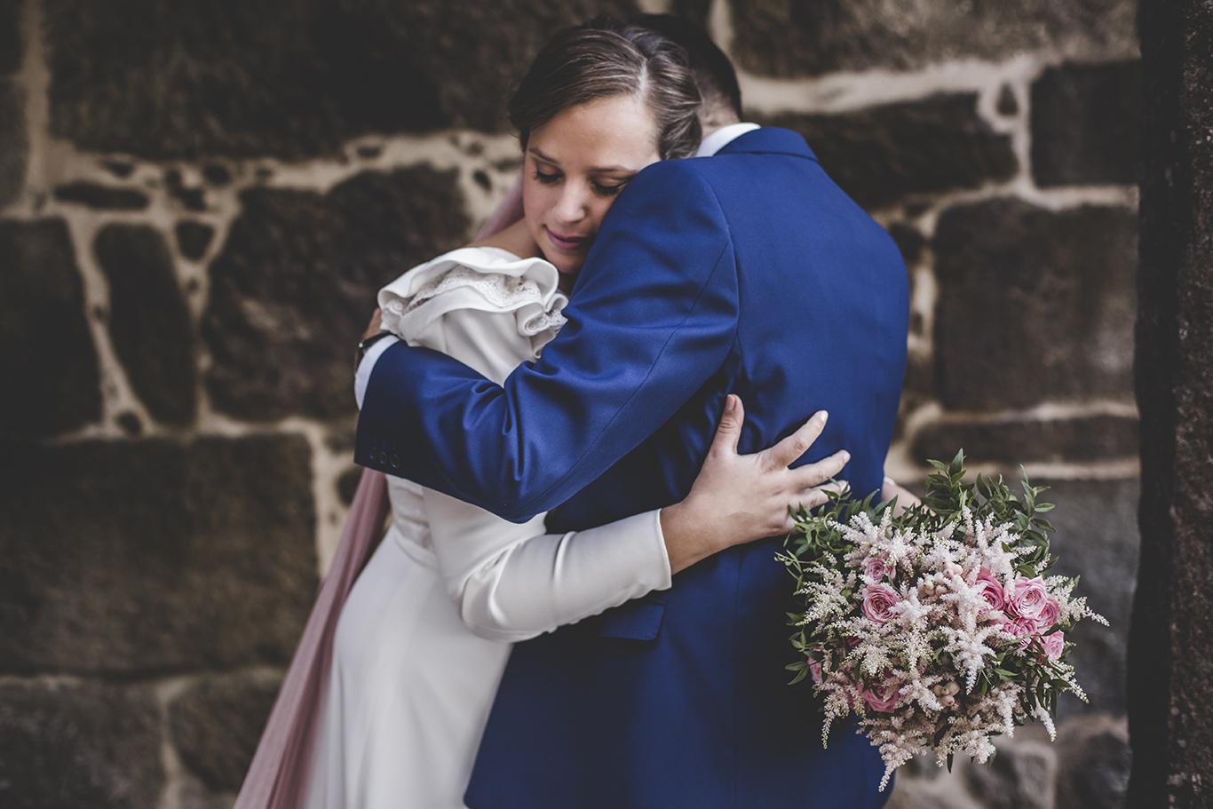 Ramo de novia decoración boda romántica por Florearte
