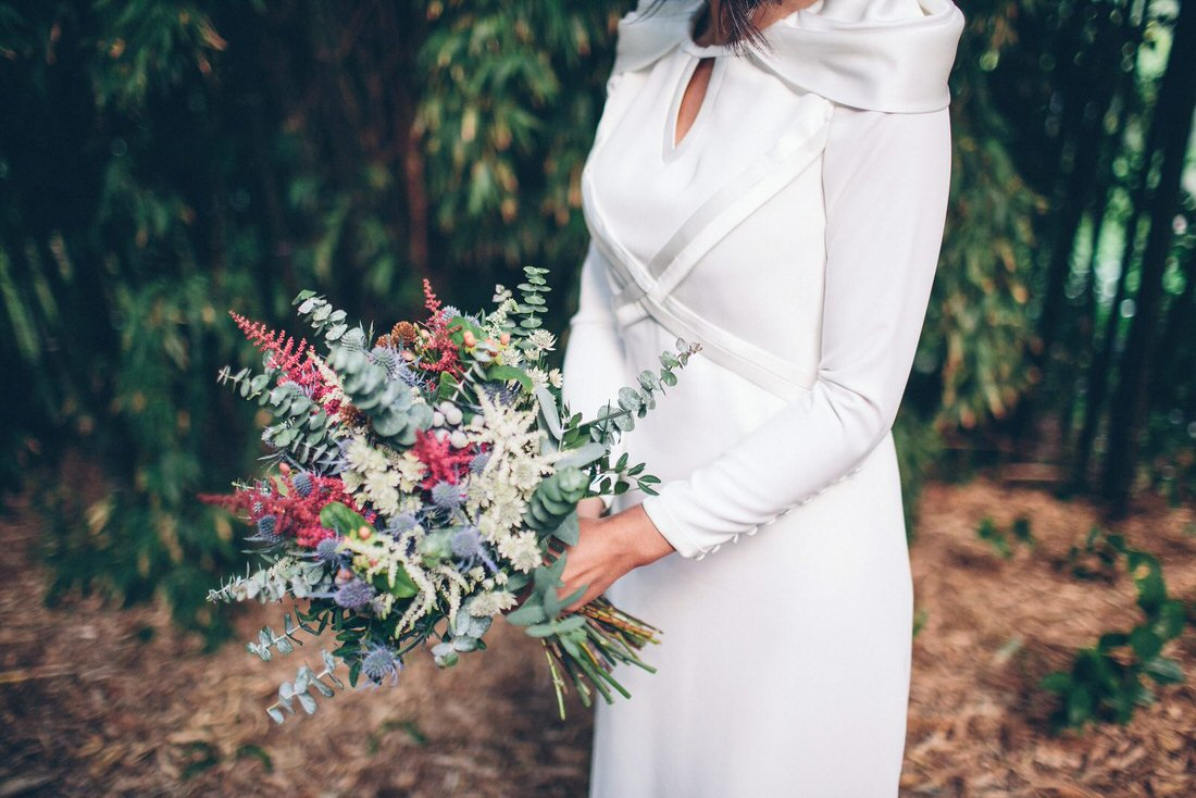 Bouquet de novias en Pontevedra por Florearte