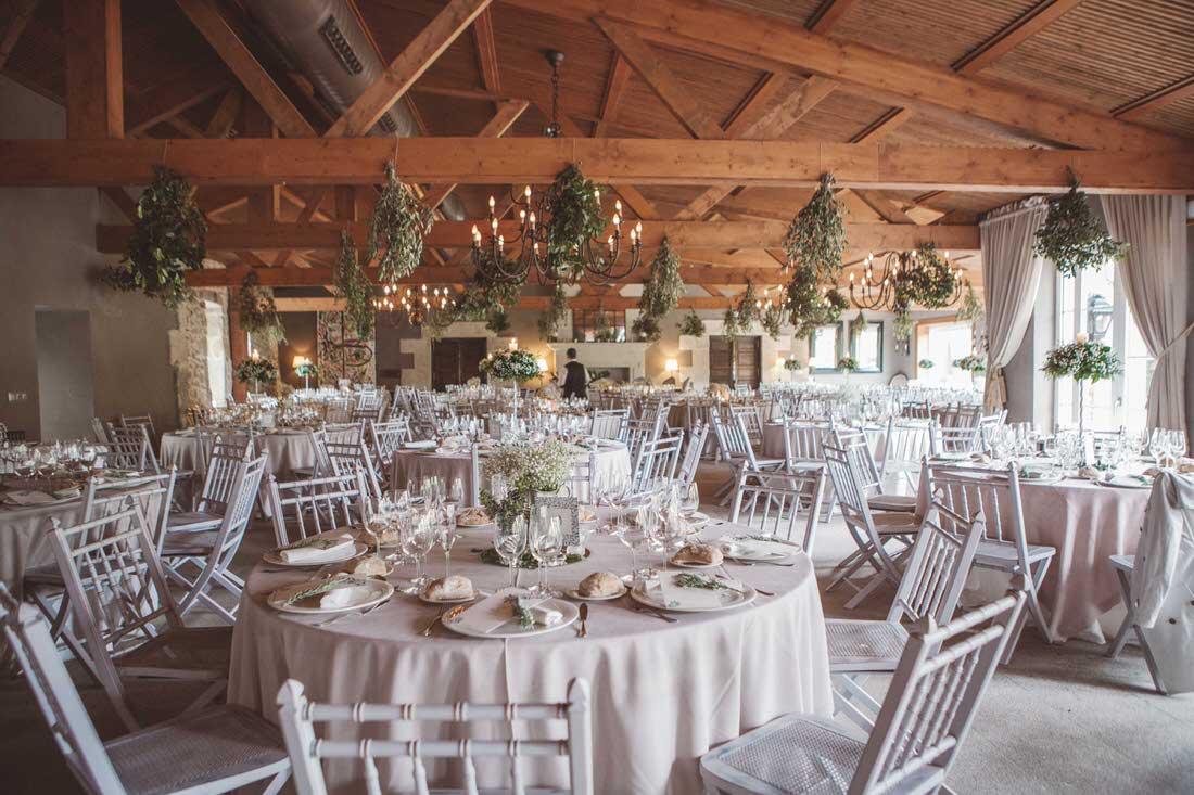 Decoración floral para bodas en Pontevedra por Florearte